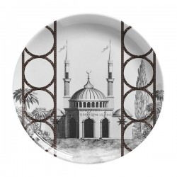 Les-Ottomans Porcelain plate Topakpi collection TP1