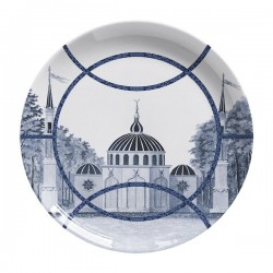 Les-Ottomans Porcelain plate Topakpi collection TP2