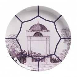 Les-Ottomans Porcelain plate Topakpi collection TP3