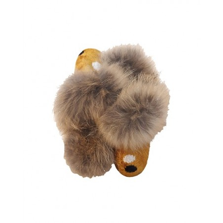 Real Fur slippers  FS01
