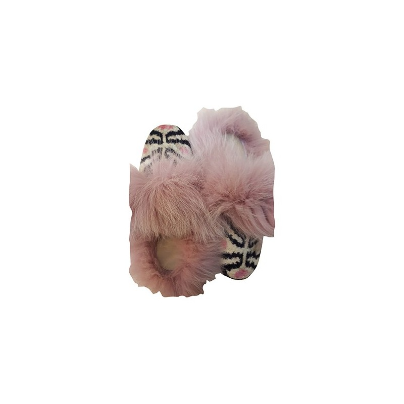 Real Fur slippers  FS04