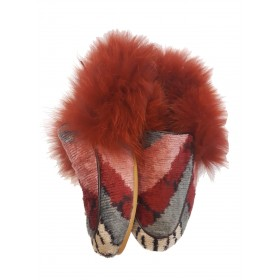 Real Fur slippers  FSH01