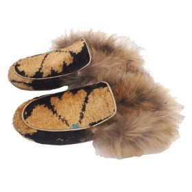 Real Fur slippers  FSH04