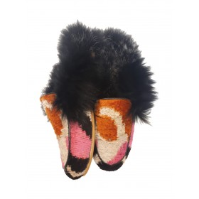 Real Fur slippers  FSH05