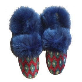 Real Fur slippers  FS07