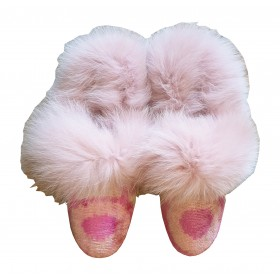 Real Fur slippers  FS09
