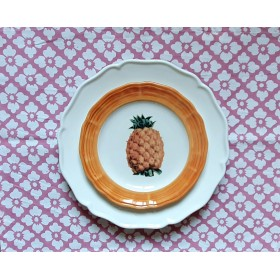 Plate Ceramic Fruit
