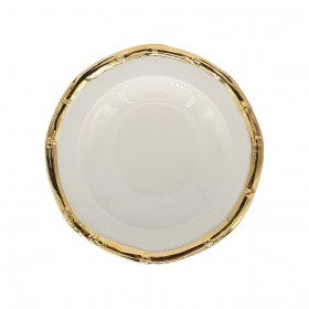 BAMBOO PLATE GOLD