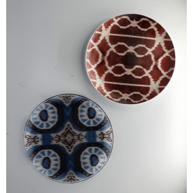 Set 2 glass plates