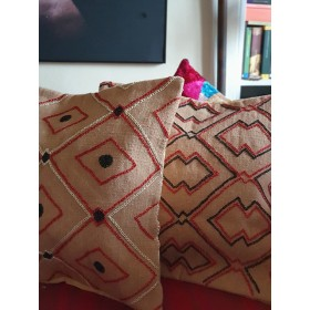 Set of 2 cushion kilim...