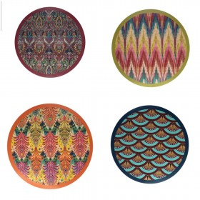 set of 4 Wooden placemats...