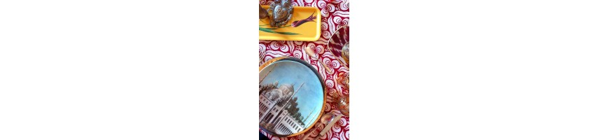 porcelain plates made in italy