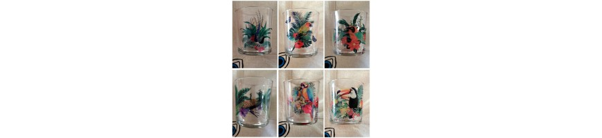 TROPICAL glasses