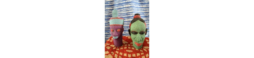 AFRICAN BEADED HEADS